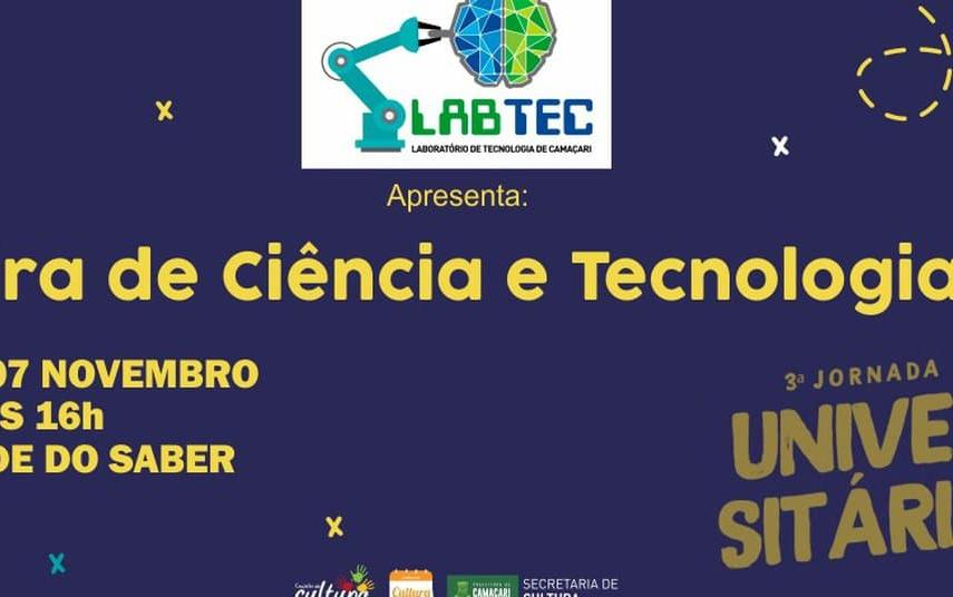 Feira de Ciência e Tecnologia e Jornada Universitária